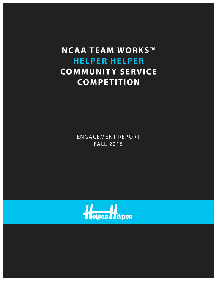 NCAA Community Engagement Report
