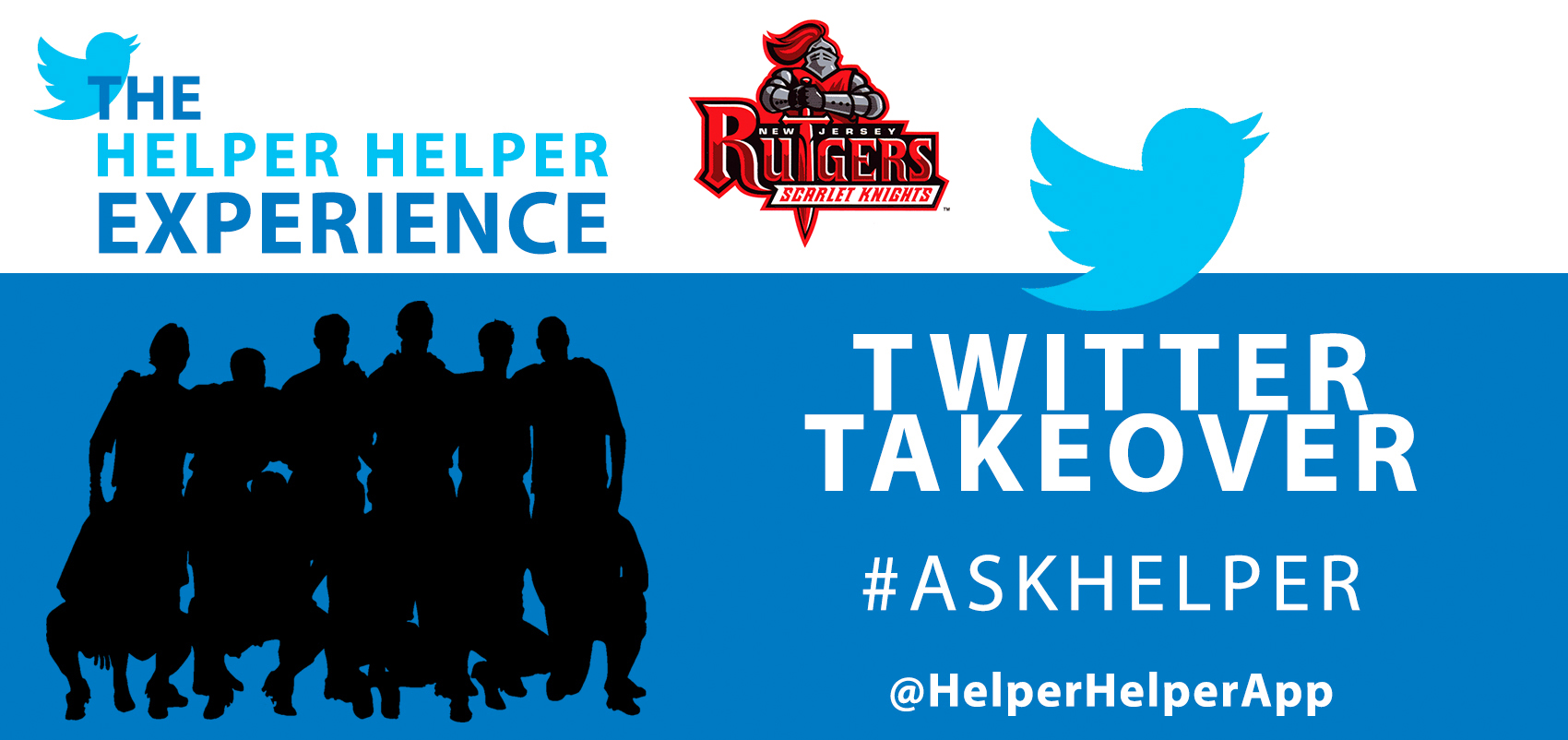 977ea63703 Rutgers Athletics Twitter Takeover - Helper Helper