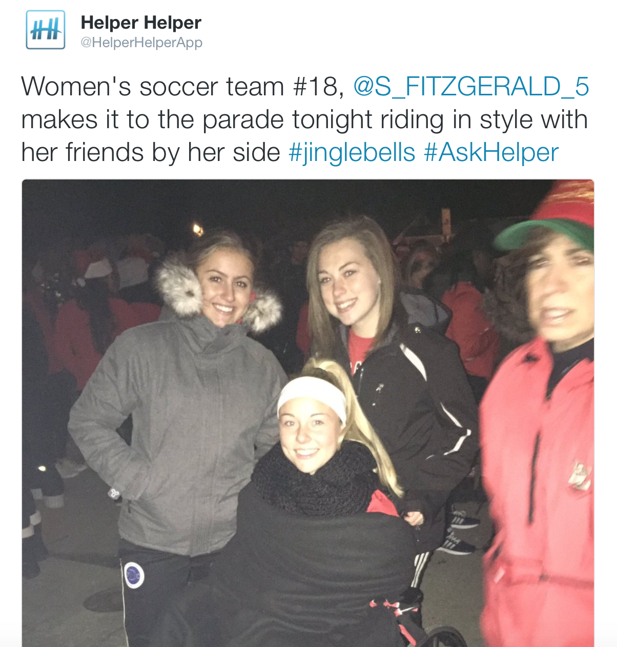 Women's Soccer rolling