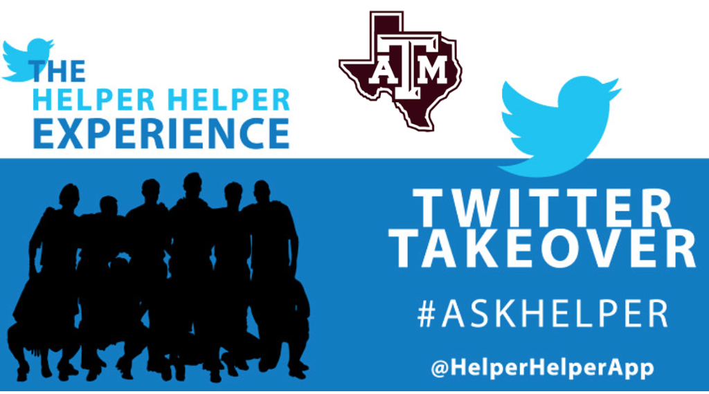 Texas A&M Athletics Twitter Takeover