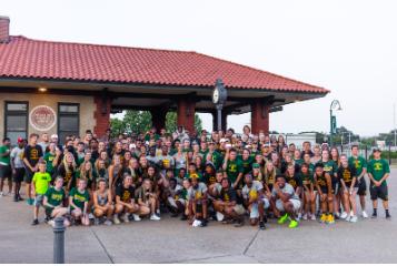 student volunteers, community service challenge