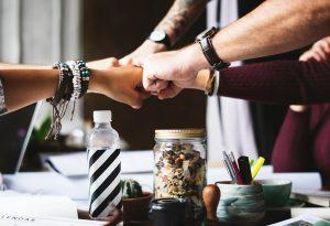 Teamwork increases Community Service efficiency.