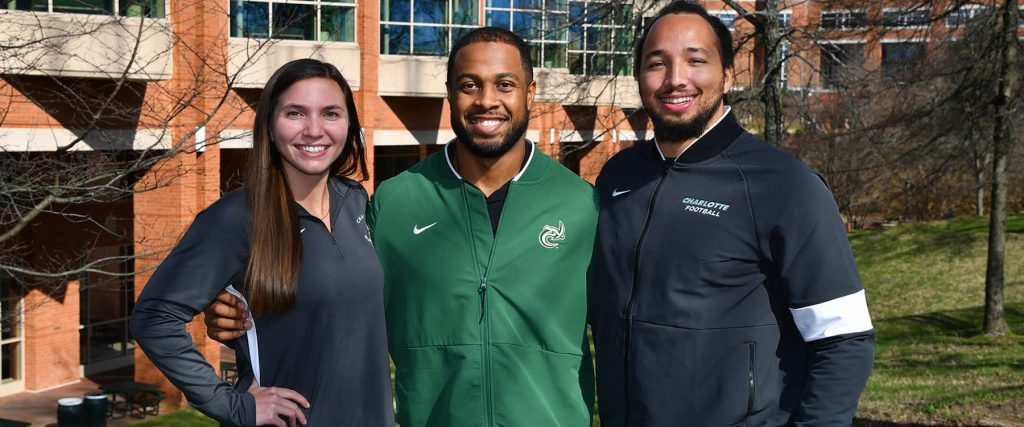 Athletic directors advising students on student athlete development + community engagement.